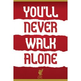 Liverpool Fc You Ll Never Walk Alone Poster 61x91 5cm Posters De