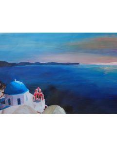 Santorini Island View - M Bleichner