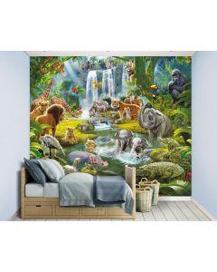 Jungle Adventure XXL Fototapete 305x244cm