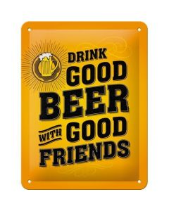 Drink Good Beer 15x20