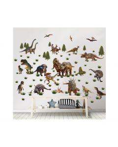 Dinosaurier Wandtattoo Set
