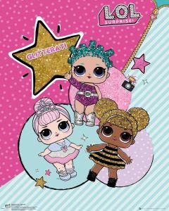 LOL Surprise Glitterati Poster 40x50cm