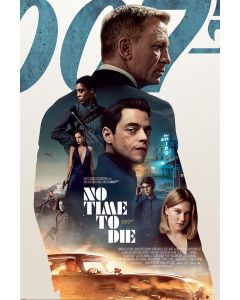 James Bond No Time To Die Profile Poster 61x91.5cm