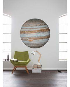 Jupiter Selbstklebende runde Tapete ⌀125cm