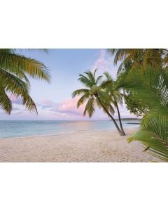 Paradise Morning 4-delig Vlies Fotobehang 368x248cm