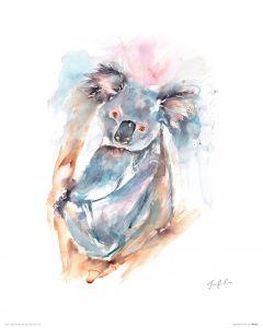 Koala Art Print Jennifer Rose 40x50cm