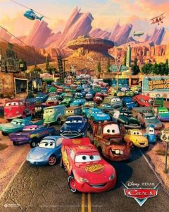 Cars Poster 40x50cm