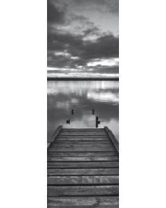 Jetty at dawn, Chesil Beach