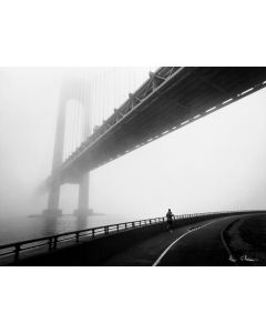 Verrazano Bridge Foggy Runner