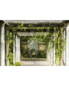 Passage im Garten 7-teilige Fototapete 350x260cm