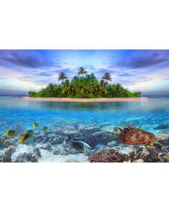 Malediven 7-teilige Fototapete 350x260cm