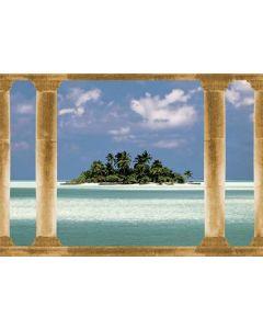 Eiland in de Stille Oceaan