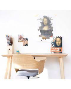 Poppik Da Vinci Mona Lisa Sticker Poster 38x53cm