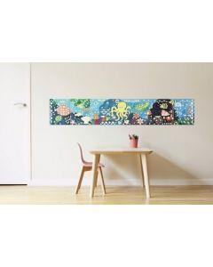 Poppik Aquarium Sticker Poster 140x25cm