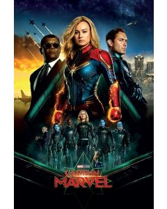 Captain Marvel Epic Poster 61x91.5cm