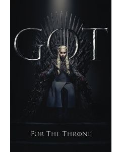 Game of Thrones Daenerys For The Throne Poster 61x91.5cm