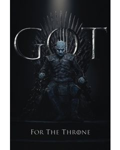 Game of Thrones The Night King For The Throne Poster 61x91.5cm