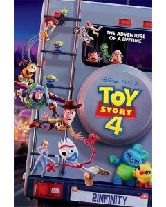 Toy Story 4 Adventure Of A Lifetime Poster 61x91.5cm