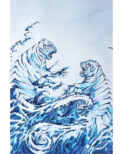 Marc Allante The Crashing Waves Poster 61x91.5cm