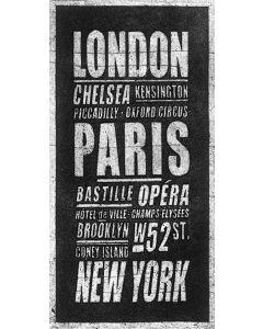 London - Paris - New York