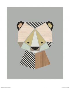 Bär Art Print Little Design Haus 40x50cm