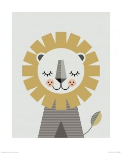 Löwe Art Print Little Design Haus 40x50cm