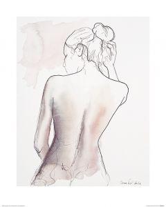 Ballett Freitag Art Print Aimee Del Valle 40x50cm