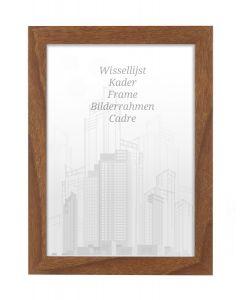 Bilderrahmen 21x29,7cm A4 Eiche Braun - Holz