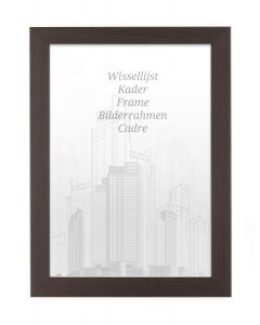 Bilderrahmen 21x29,7cm A4 Kakao - Holz