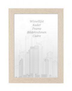 Bilderrahmen 60x80cm Eiche - Holz