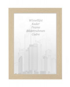 Bilderrahmen 50x70cm Natur - Holz