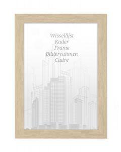 Bilderrahmen 60x80cm Natur - Holz