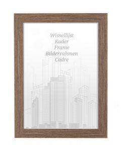 Bilderrahmen 60x80cm Nussbaum - Holz