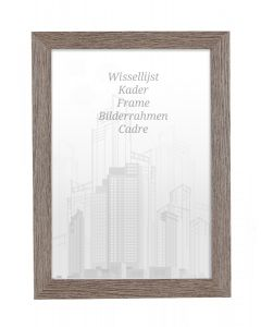 Bilderrahmen 60x80cm Lakritze - Holz