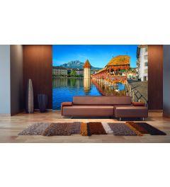 Fototapete Luzern Schweiz 8-teilige Fototapete 366 x 254 cm