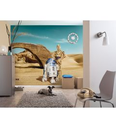 Star Wars Droids 8-teilige Fototapete 368x254cm