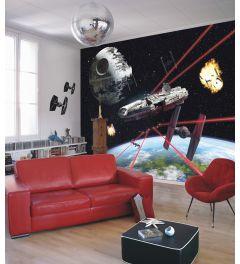 Star Wars Millennium Falcon 8-teilige Fototapete 368x254cm