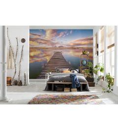 Pier mit Meerblick 8-teilige Fototapete 368x254cm
