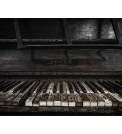 Abandoned Piano Art Print