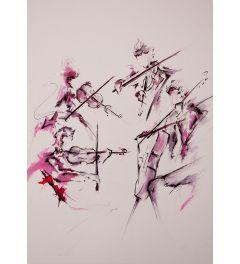 Quartet Kunstdruk 42x59.7cm