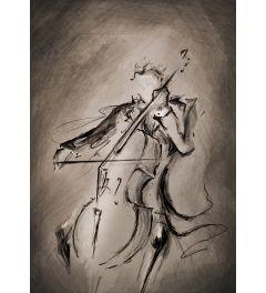Violoncellist - Dunkel