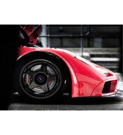 Rennwagen Rot - Front