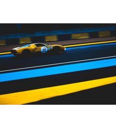 Rennwagen - Gelb - Nummer 68