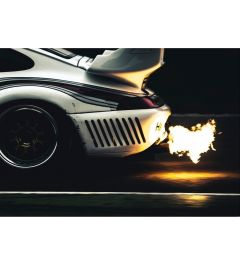 Porsche - Auspuff - Fire