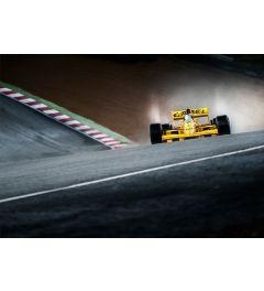 F1 Rennwagen - Gelb - Camel