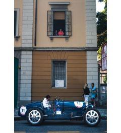Rennwagen Blau - Nummer 11