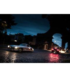 Mercedes SL - Oldtimer - Stadt