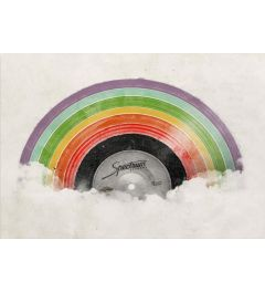 Regenbogen-Musik