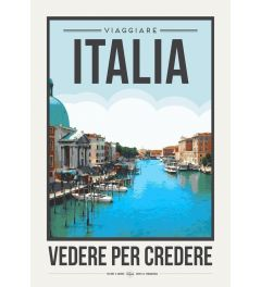 Travel Poster Italy