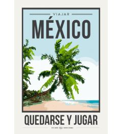 Travel Poster Mexico